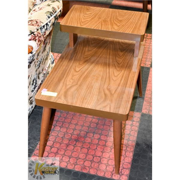 """VINTAGE LACQUER LOOK END TABLE 24"""" X 16"""" X 22""""TALL"""