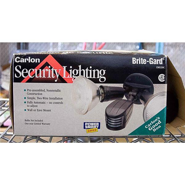 SECURITY LIGHT CARLON BRITE-GARD