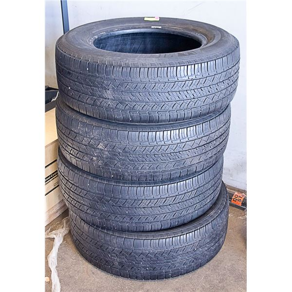 SET OF 4 TIRES 245 - 65 - R17