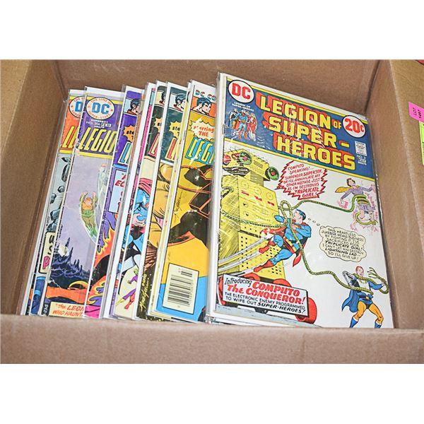 25 COMICS LOT DC LEGION OF SUPER-HEROES