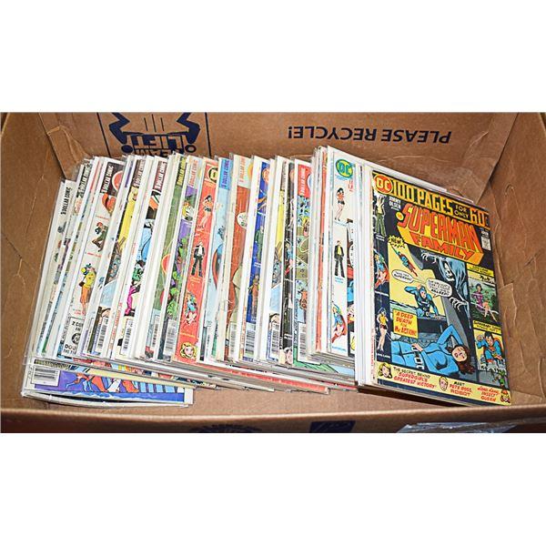 COMICS LOT 38 SUPERMAN FAMILY DC OLD COMIC BOOK