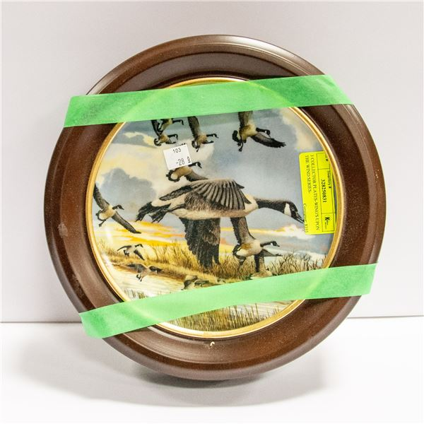 3 COLLECTOR PLATES-WING'S UPON THE WIND SERIES-