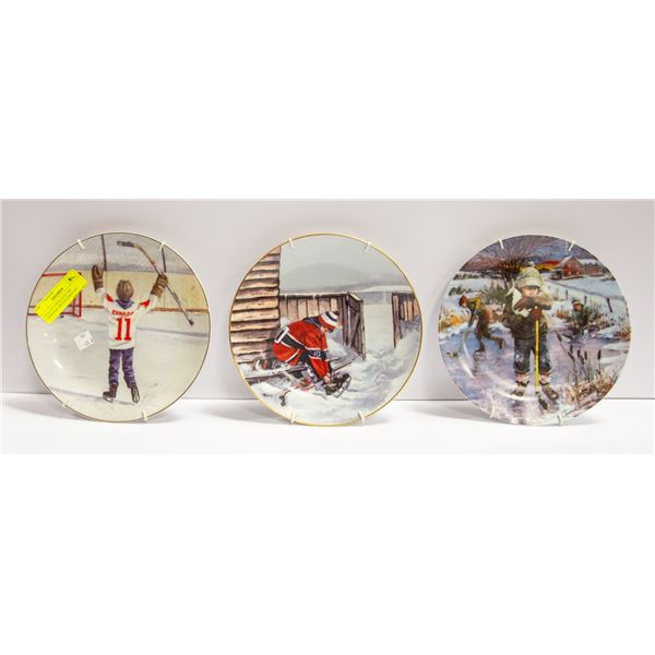 5 COLLECTOR PLATES-THE CANADIAN DREAM SERIES BY