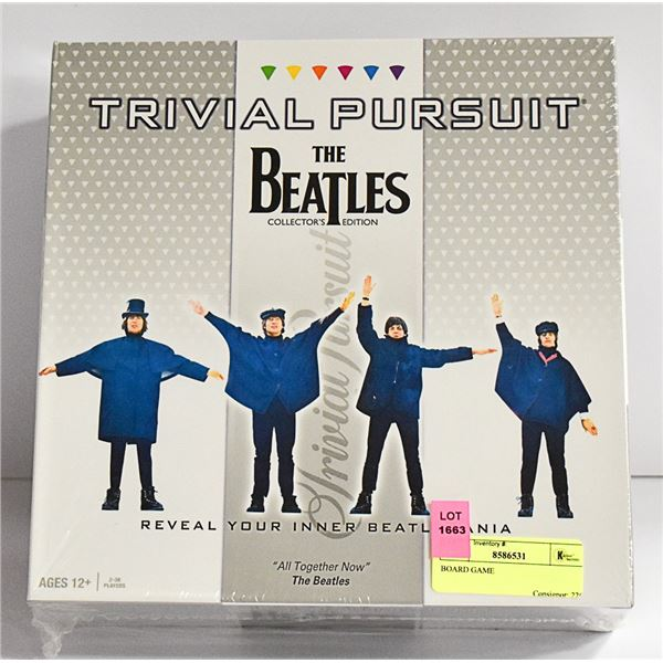 THE BEATLES TRIVIAL PURSUIT GAME SEALED