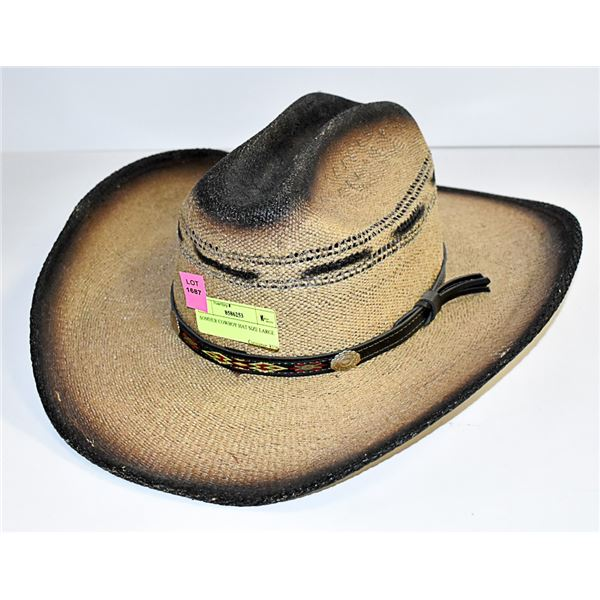 SOMHER COWBOY HAT SIZE LARGE