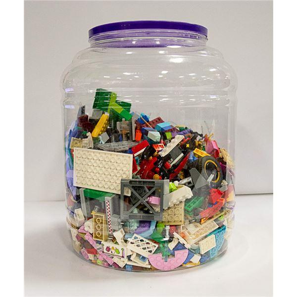 LARGE TUB FULL OF LEGO