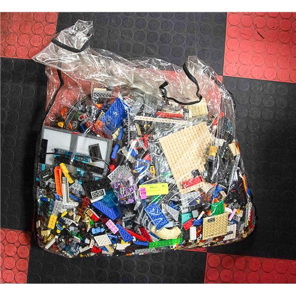 LARGE BAG FULL OF LEGO