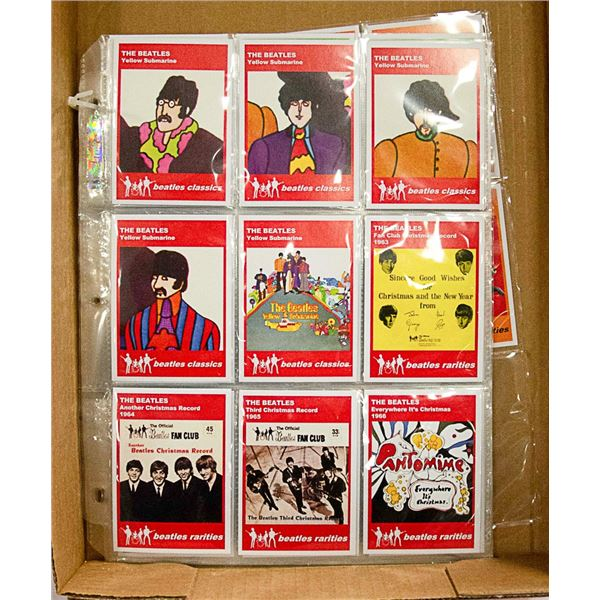 LOT OF ASSORTED BEATLES CARDS