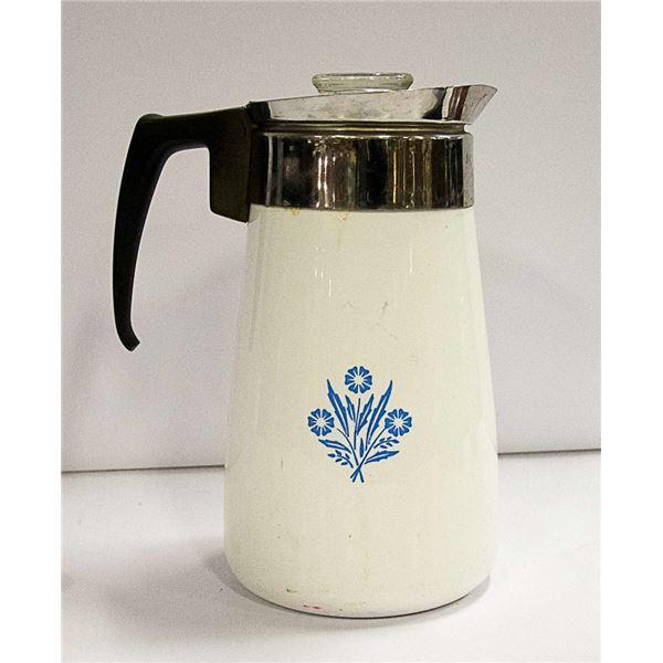 CORNINGWARE 9 CUP COFFEE PERCULATOR