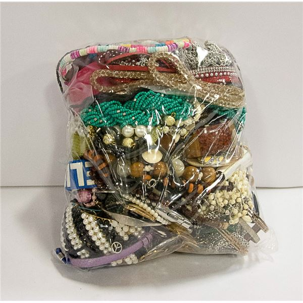 LARGE BAG OF VINTAGE JEWELRY