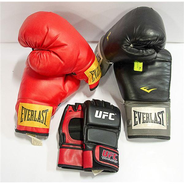 BOXING GLOVES & UFC GLOVES