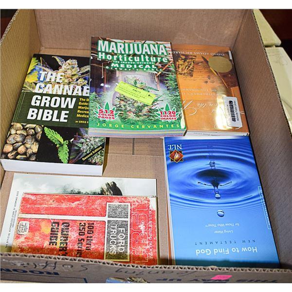 MARIJUANA MEDICAL BOOK + CANNABIS GROW BIBLE