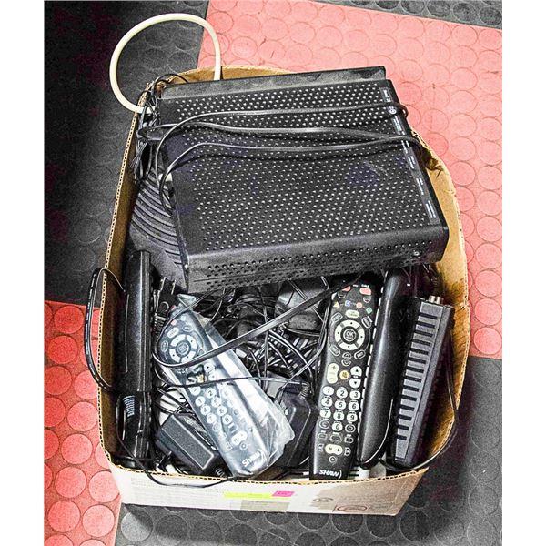 ASSTD SHAW CABLE BOXES PVR MODEM ROUTER REMOTE