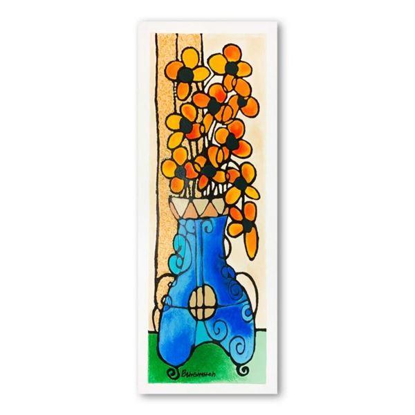 Blue Vase I by Ben-Simhon, Avi