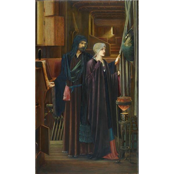 Edward Burne-Jones - The Wizard