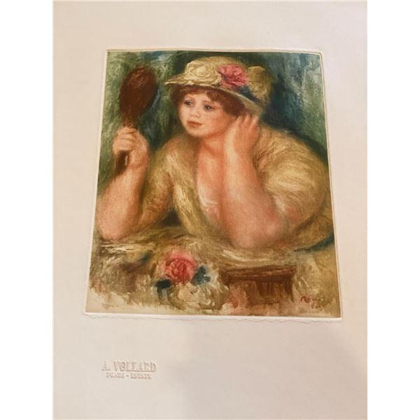 """Renoir """"La Femme au Mirroir"""""""