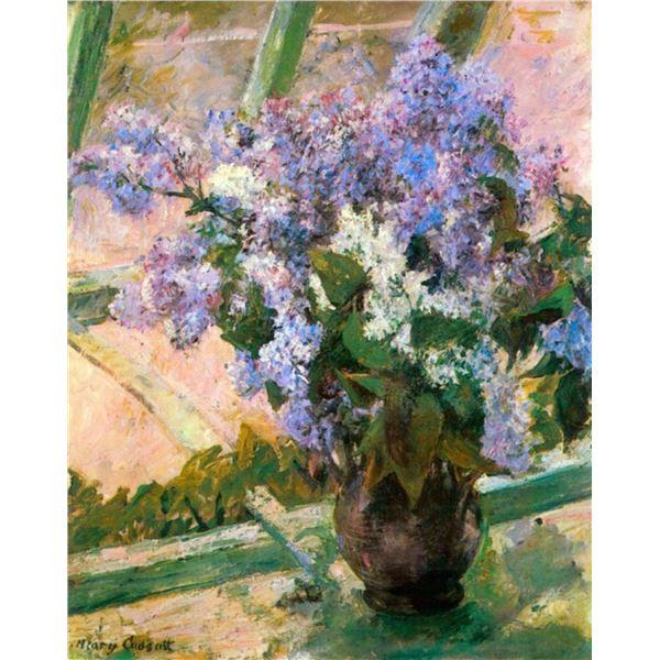 Mary Cassatt - Flowers In The Window
