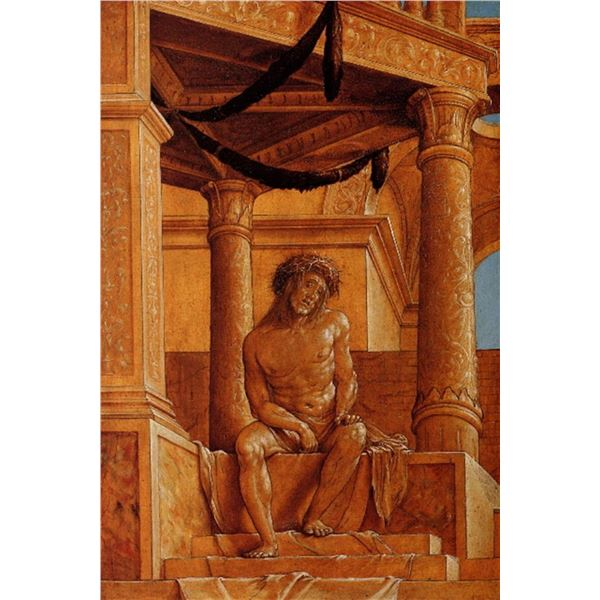Hans Holbein - Christ in Pain