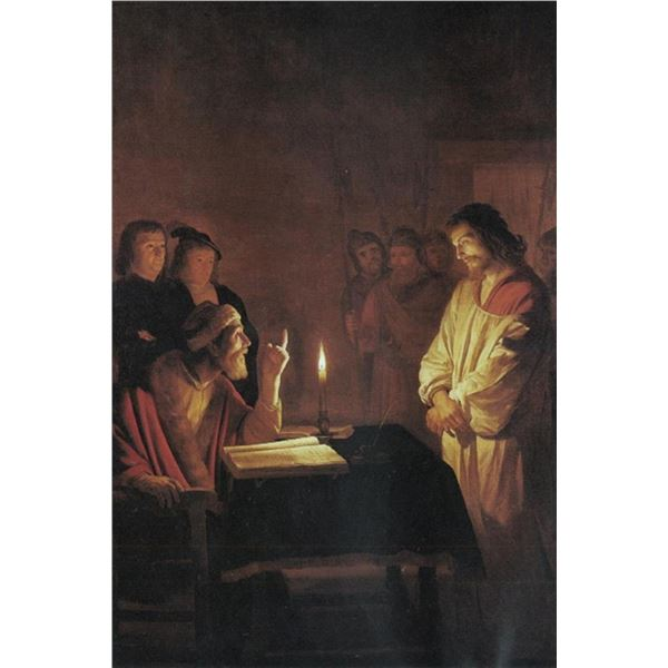 Gerard van Honthorst - Christ in front of the high priest