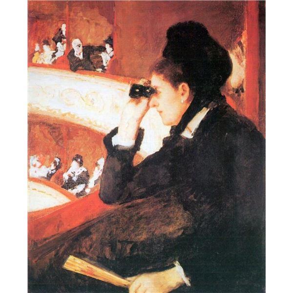 Mary Cassatt - In The Opera