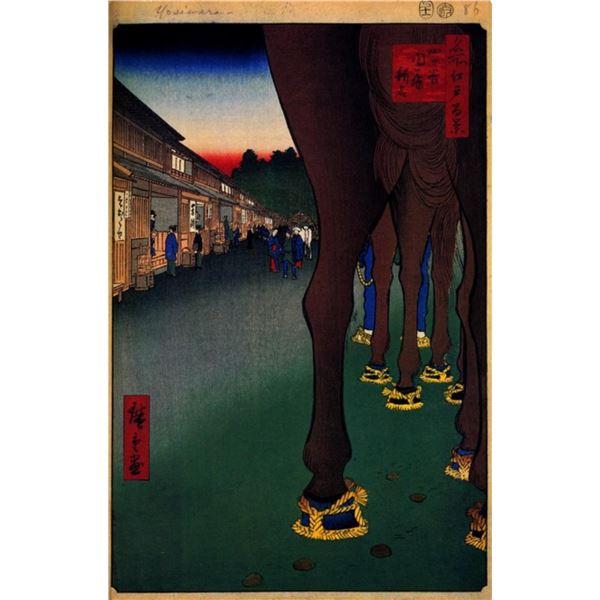 Hiroshige  - Naito Shinjuku