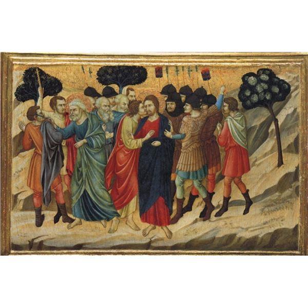 Ugolino di Nerio - Betrayal by Judas