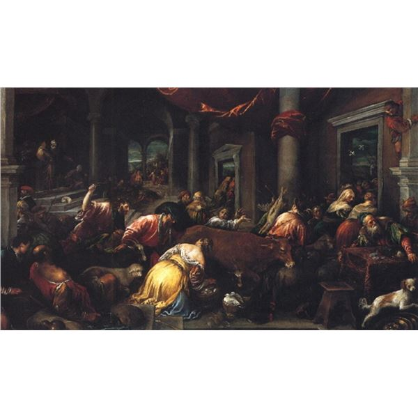 Jacopo Bassano - Christ Drives the Dealers from the Temple