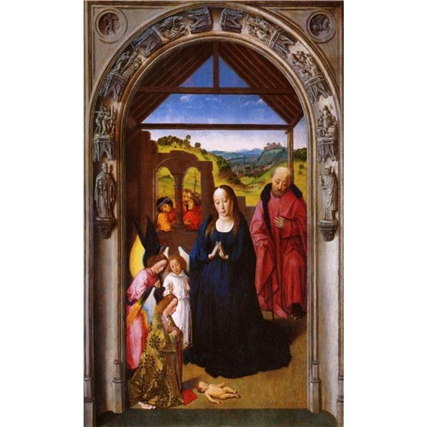 Dieric Bouts - Birth of Christ