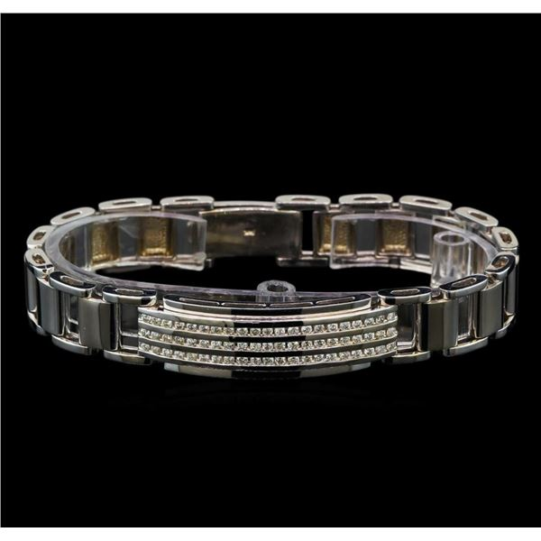 1.44 ctw Diamond Bracelet - 14KT White Gold