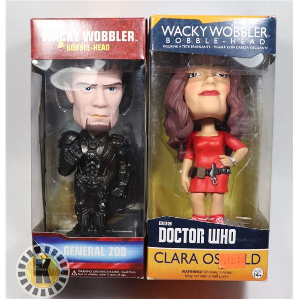 TWO ASSORTED BOBBLE HEADS