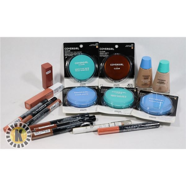BAG OF ASSORTED COSMETICS AND BEAUTY ITEMS