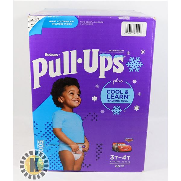 CASE OF HUGGIES PULL UPS SIZE 3T-47