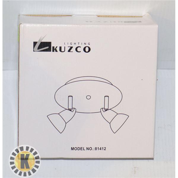 LIGHTING KUZCO, TRACK LIGHT  MODEL 81412