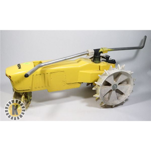 CAST IRON TRACTOR STYLE SPRINKLER