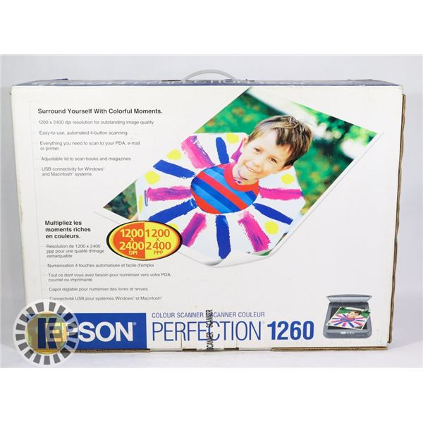 EPSON PERFECTION COLOR SCANNER