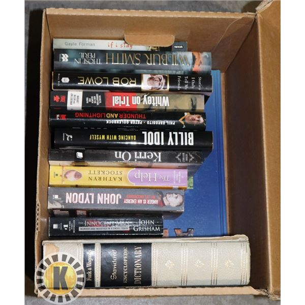 11 BOOKS AND 1 ENCYCLOPEDIC DICTIONARY