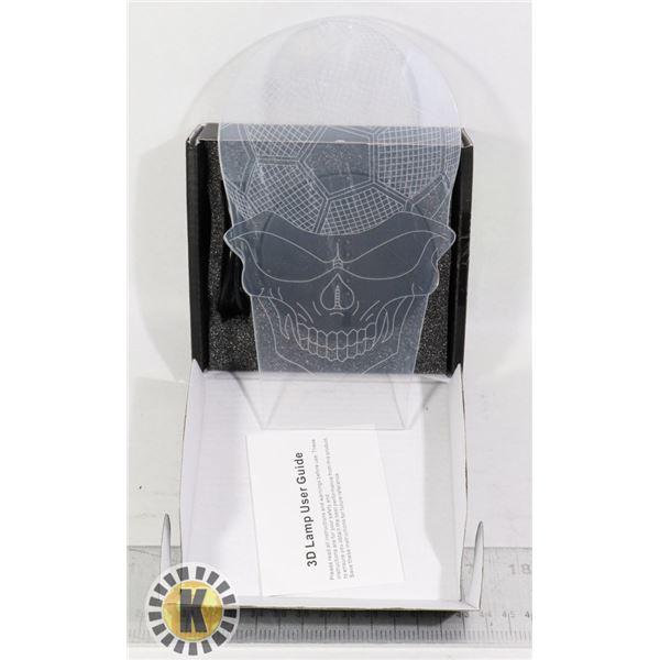 3D LAMP KIT- SOCCER BALL SKULL DESIGN