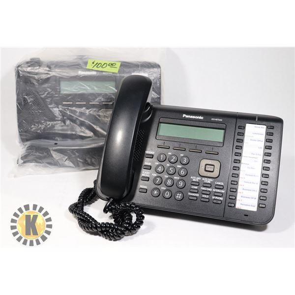 2 PANASONIC KX-NT543 IP PROPRIETARY TELEPHONE