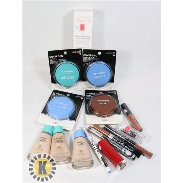BAG OF ASSORTED BEAUTY AND COSMETICS