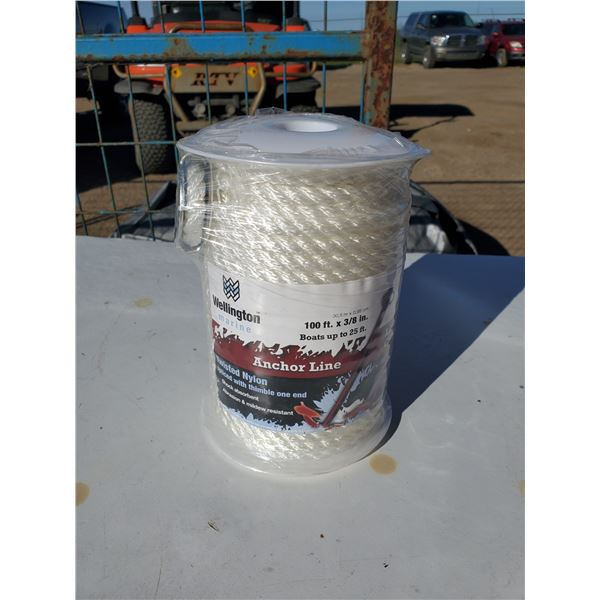 1 new roll of anchor line