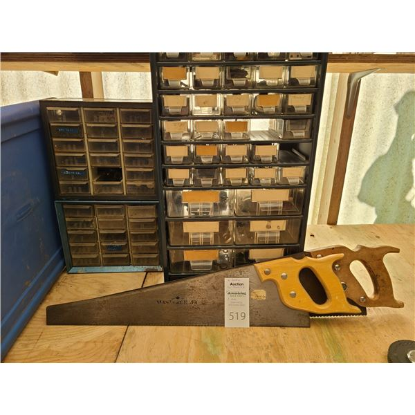 Tool drawers and Saws Cat B