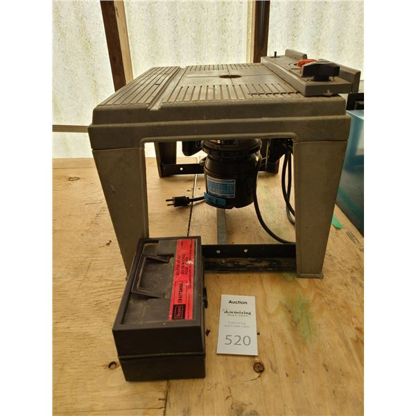 Craftsman Router on stand Cat B