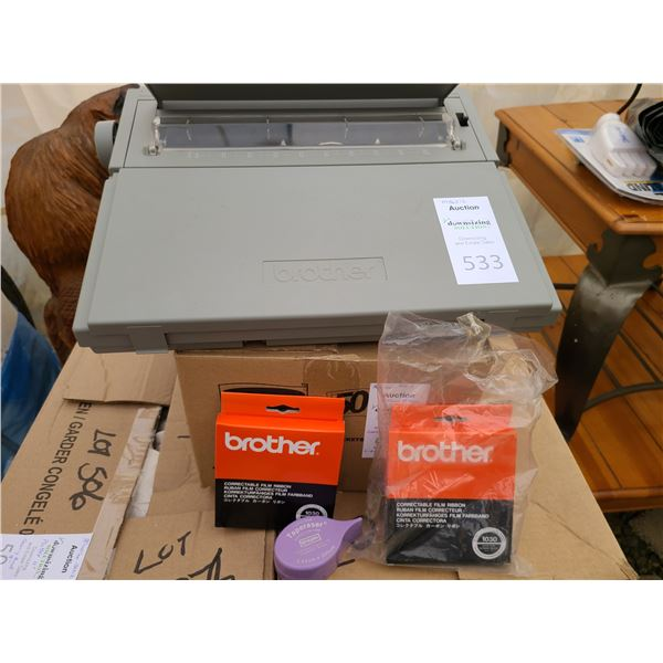 Brother Electric Typewriter Cat A