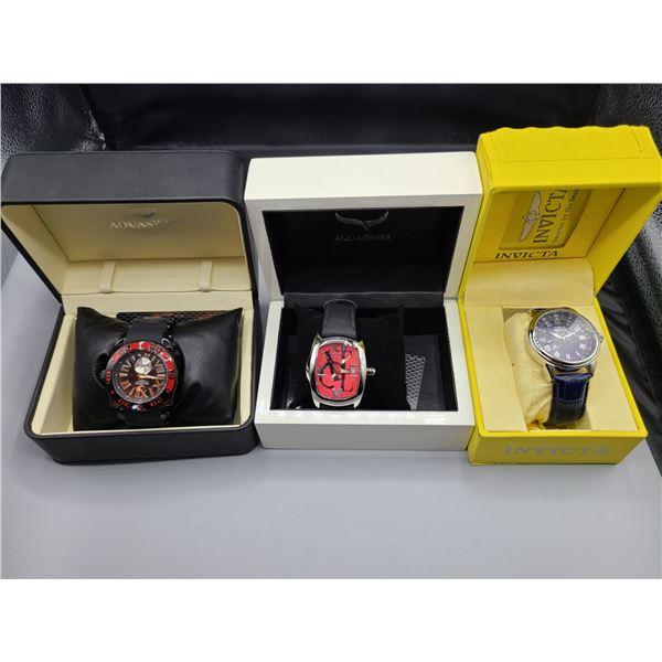 Invicta  & Aquaswiss Men's Wrist Watches. Cat A