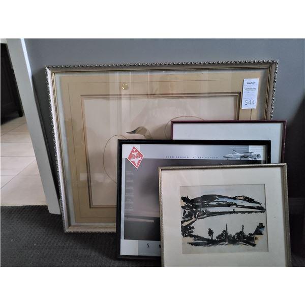 Framed Art Cat A