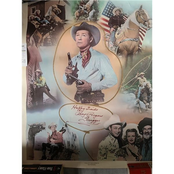 Roy Rogers signed & Numered Cat A