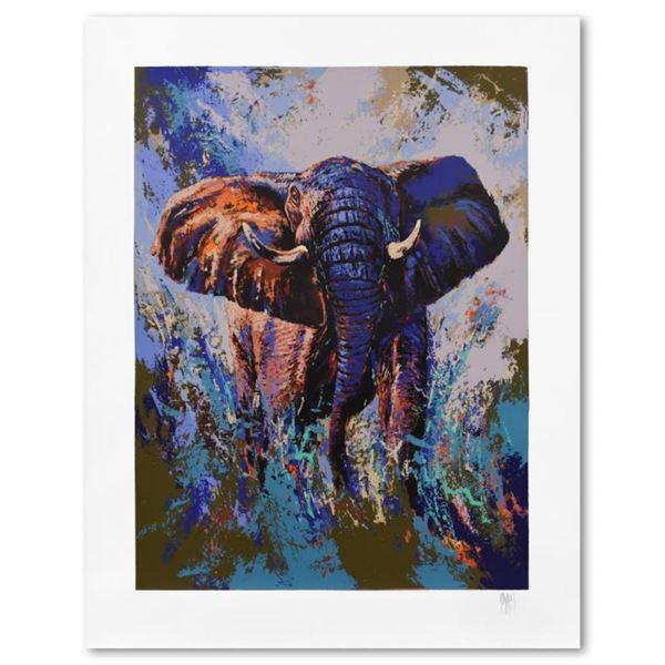 Tembo Elephant by Mark King (1931-2014)