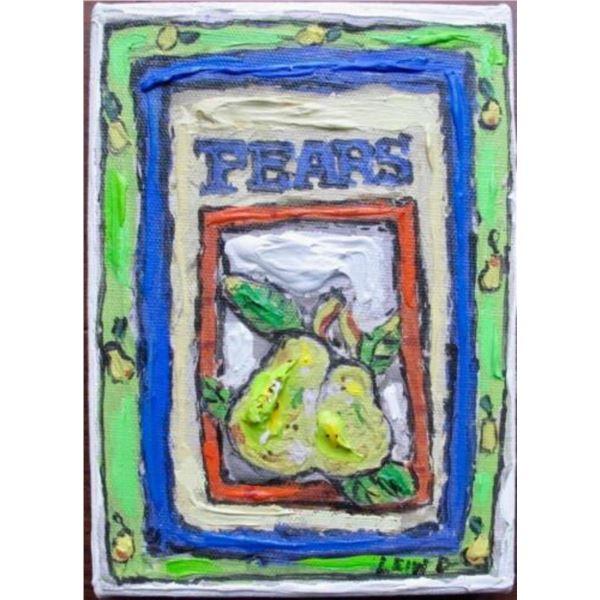 """Leslie Lew """"Pears #2"""""""