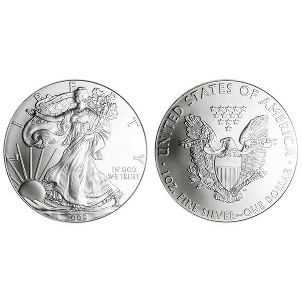 2009 American Silver Eagle .999 Fine Silver Dollar Coin