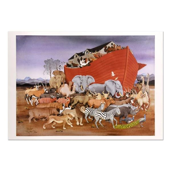Noah and the Animals by Chen, Tony